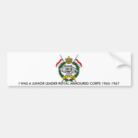 JLR RAC BUMPER STICKER