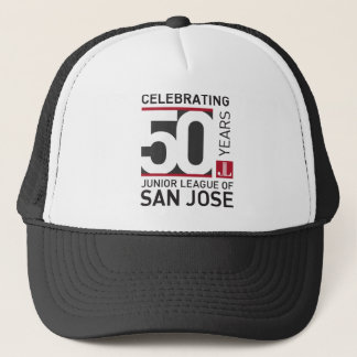 JLSJ 50th Anniversary Commemorative Trucker Hat