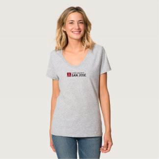 JLSJ Gray Logo T-Shirt