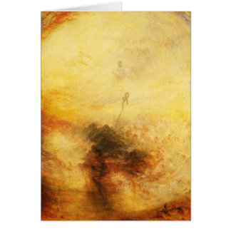 JMW Turner Light and Colour Greeting Card