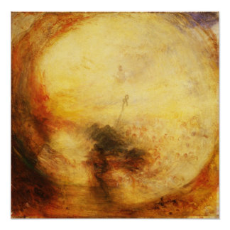 JMW Turner Light and Colour Poster