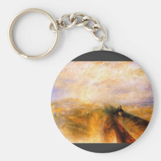 JMW Turner - Rain Steam and Speed the Great Wester Key Ring