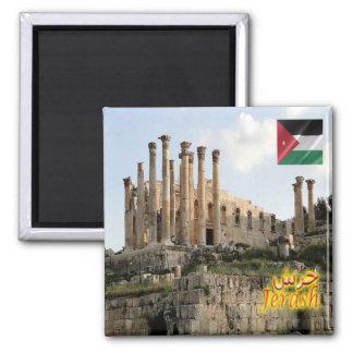 JO - Jordan - Jerash - Temple of Zeus Magnet