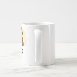 Jo Ken Po Basic White Mug