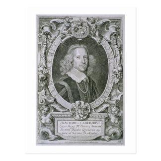 Joachim Camerarius, from 'Portraits des Hommes Ill Postcard