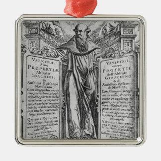 Joachim of Flora Christmas Ornament