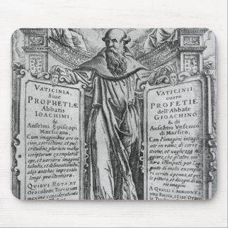 Joachim of Flora Mouse Mat