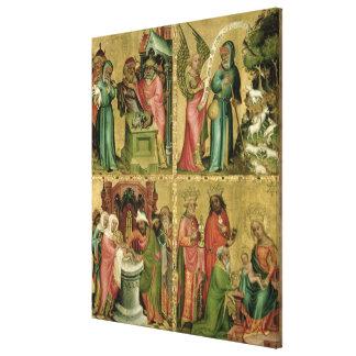Joachim's Sacrifice, the Circumcision of Canvas Print