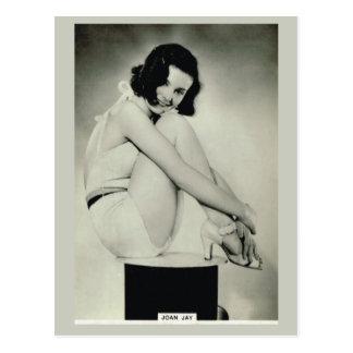 Joan Jay Postcard