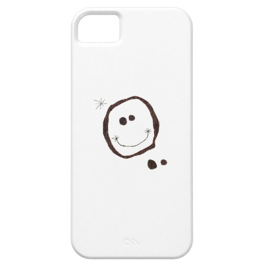 joan miro happy face iphone case
