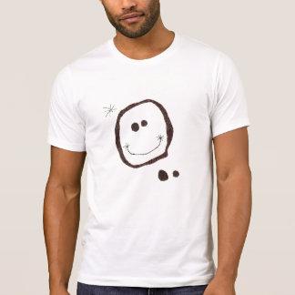 joan miro happy face t-shirt