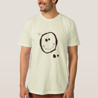 joan miro happy face t-shirt