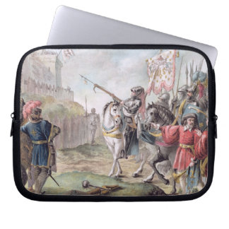 Joan of Arc (1412-31) Orders the English to Leave Laptop Sleeve