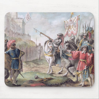 Joan of Arc (1412-31) Orders the English to Leave Mouse Mat