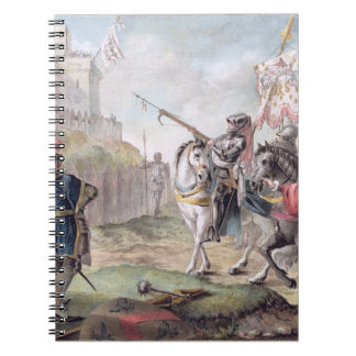 Joan of Arc (1412-31) Orders the English to Leave Spiral Notebook