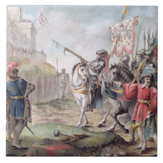 Joan of Arc (1412-31) Orders the English to Leave Tile