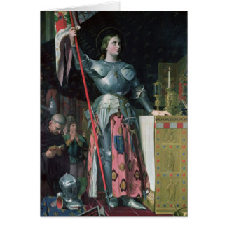 Joan of Arc  at the Coronation of King Charles Card