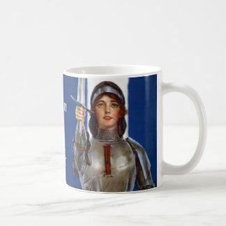 Joan of Arc Basic White Mug