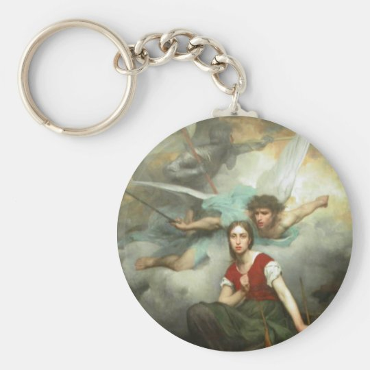Joan of Arc Key Ring