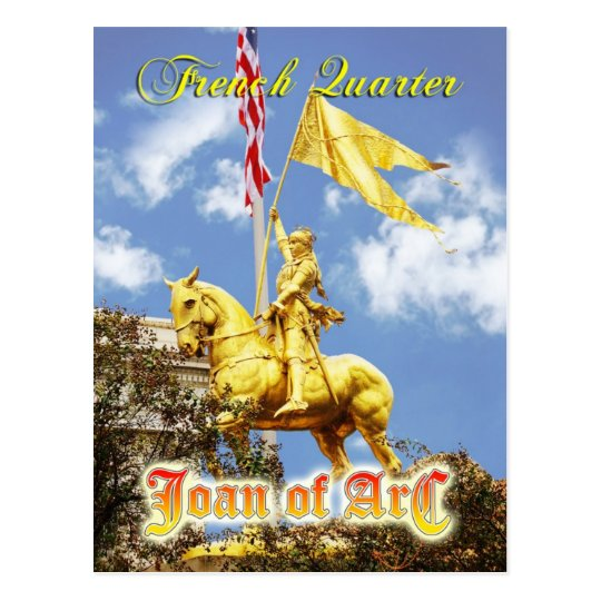 Joan of Arc (Maid of Orleans) statue, New