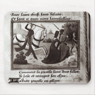 Joan of Arc Mouse Pad