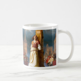 Joan of Arc Classic White Coffee Mug