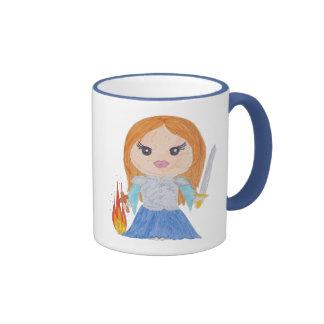 Joan of Arc Ringer Mug