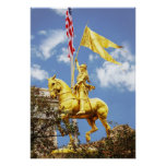 Joan of Arc, New Orleans, Louisiana Poster