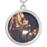 Joan of Arc Personalized Necklace