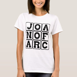 Joan of Arc, Saint and Martyr T-Shirt