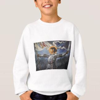 Joan of Arc with banner Sweatshirt