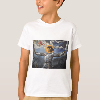 Joan of Arc with banner Tee Shirt