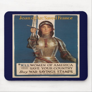Joan Of Arc World War II Mouse Pad