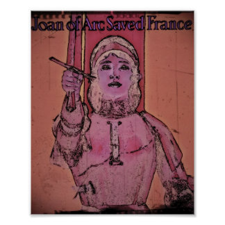 Joan of Arc WWII Buy Bonds Poster