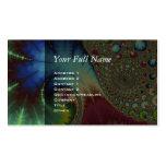 Joanie 50 Fractal Art Business Card Template