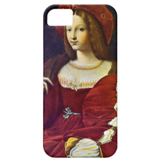Joanna of Aragon by Raphael iPhone 5 Covers