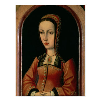 Joanna or Juana `The Mad' of Castile Postcard