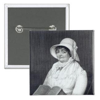 Joanna Southcott, 1812 15 Cm Square Badge