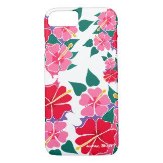 Joanne Short Hibiscus Flowers phone case