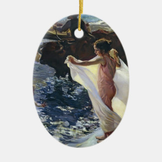 Joaquín Sorolla- Bathing Time Ornament