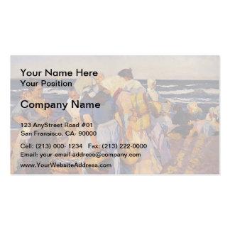 Joaquín Sorolla- Fisherwomen Pack Of Standard Business Cards