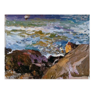Joaquín Sorolla- Sea at Ibiza Postcard