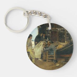 Joaquín Sorolla- The happy day Acrylic Key Chains