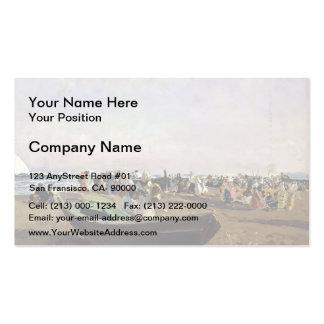 Joaquín Sorolla- Valencia Beach. Fisherwomen. Pack Of Standard Business Cards