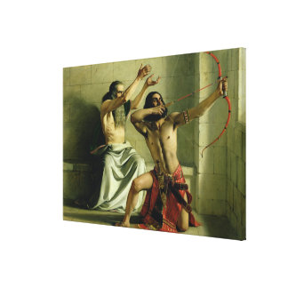 Joash Shooting the Arrow of Deliverance, 1844 Canvas Print