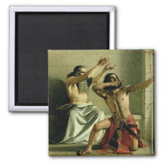 Joash Shooting the Arrow of Deliverance, 1844 Fridge Magnets