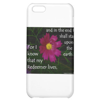 Job 19:25 I know that my Redeemer Lives! iPhone 5C Covers