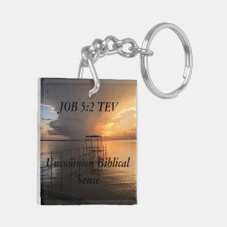 JOB 5:2 TEV Double sided keychain