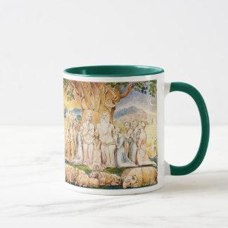Job and His Family by William Blake Mug