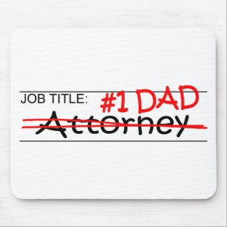 Job Dad Attorney Mousepads